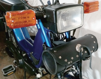 Kinetic TFR Moped